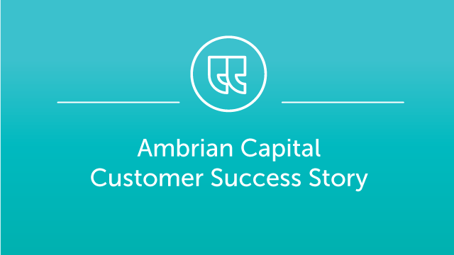 Ambrian Capital Case Study