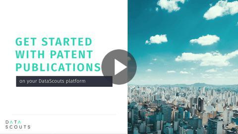 Patent publications - DataScouts