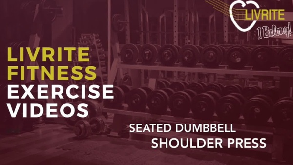 Seated Dumbbell Shoulder Press-1