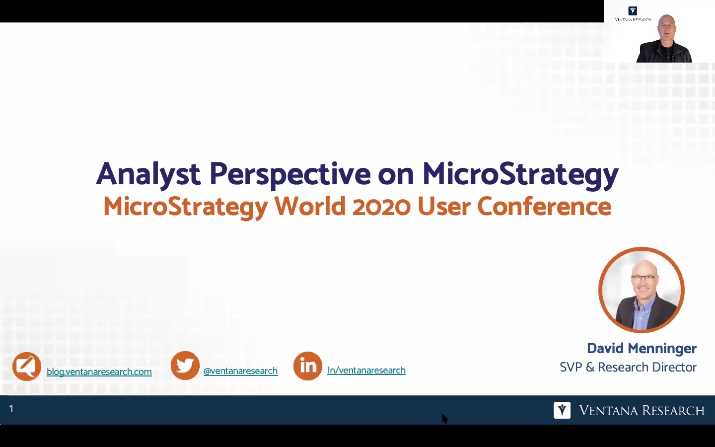 MicroStrategy World 200306