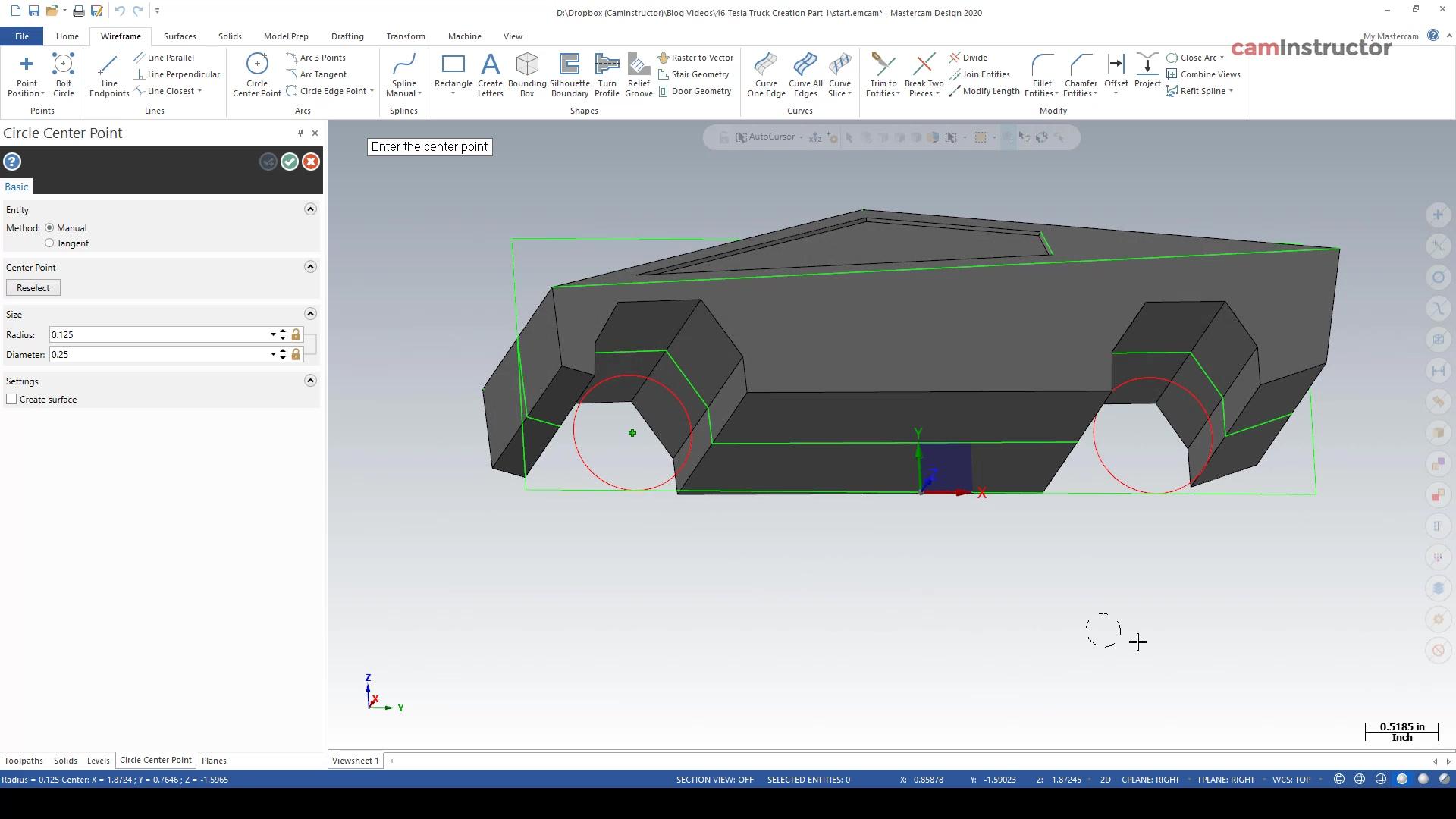 Tesla Truck Creation Part 4