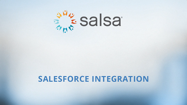 SalsaEngage-Salesforce-Integration
