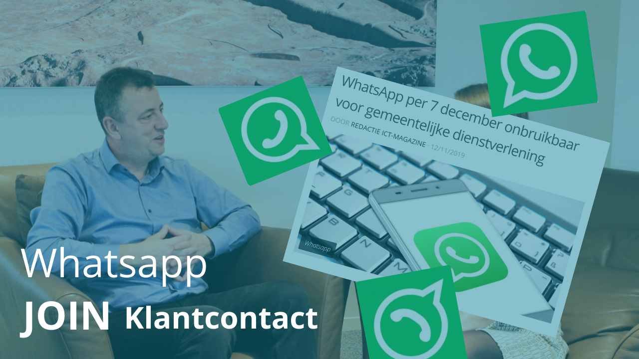 JOIN Klantcontact en Whatsapp