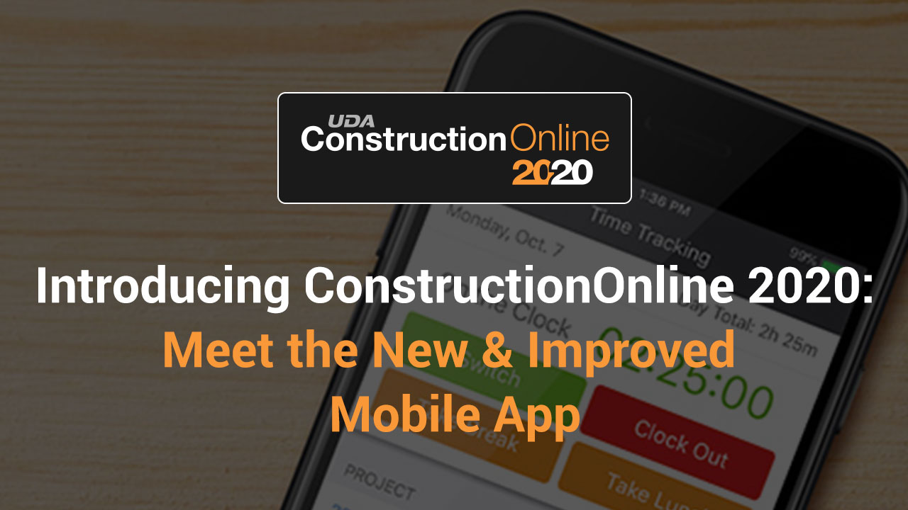 See the New and  Improved ConstructionOnline Mobile-1