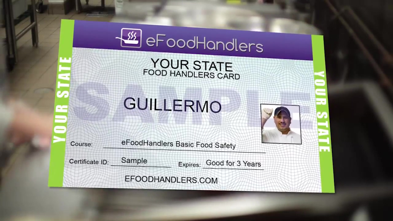 How to get a Food Handlers Card