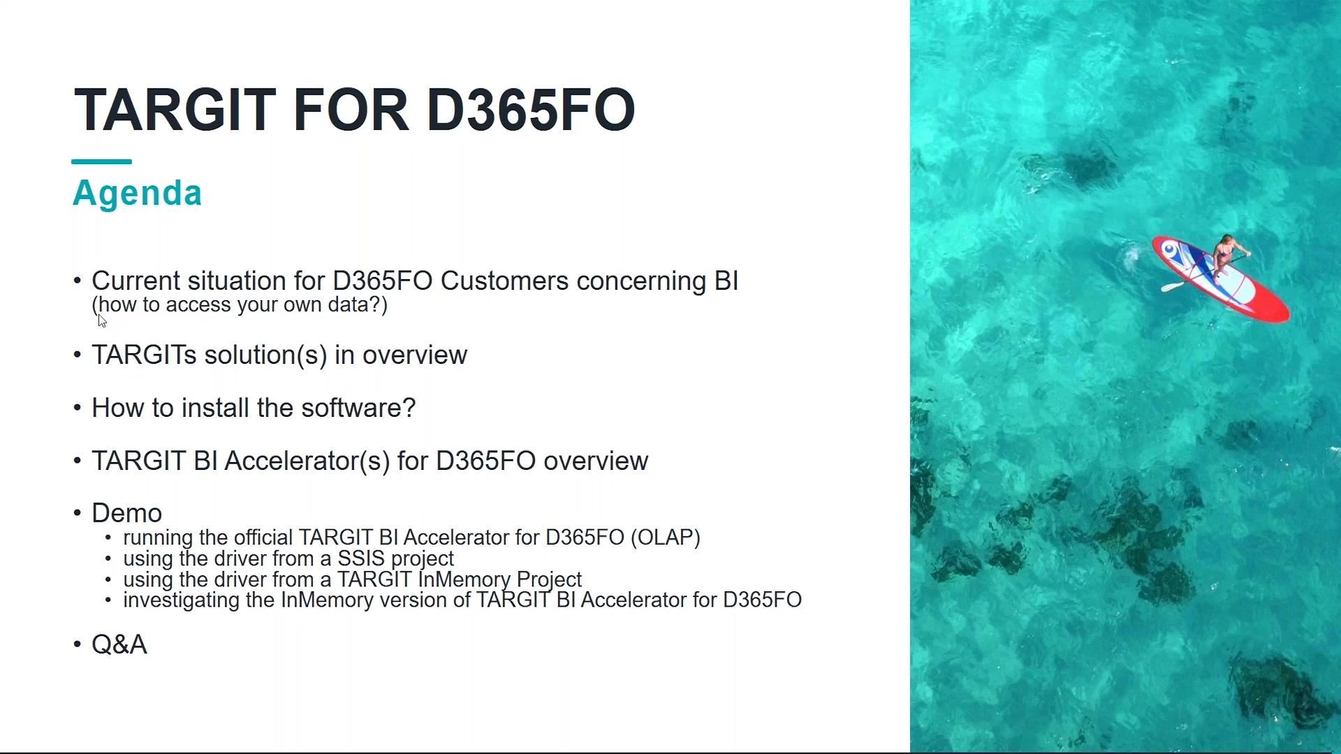 Webinar-Analytics for D365FO