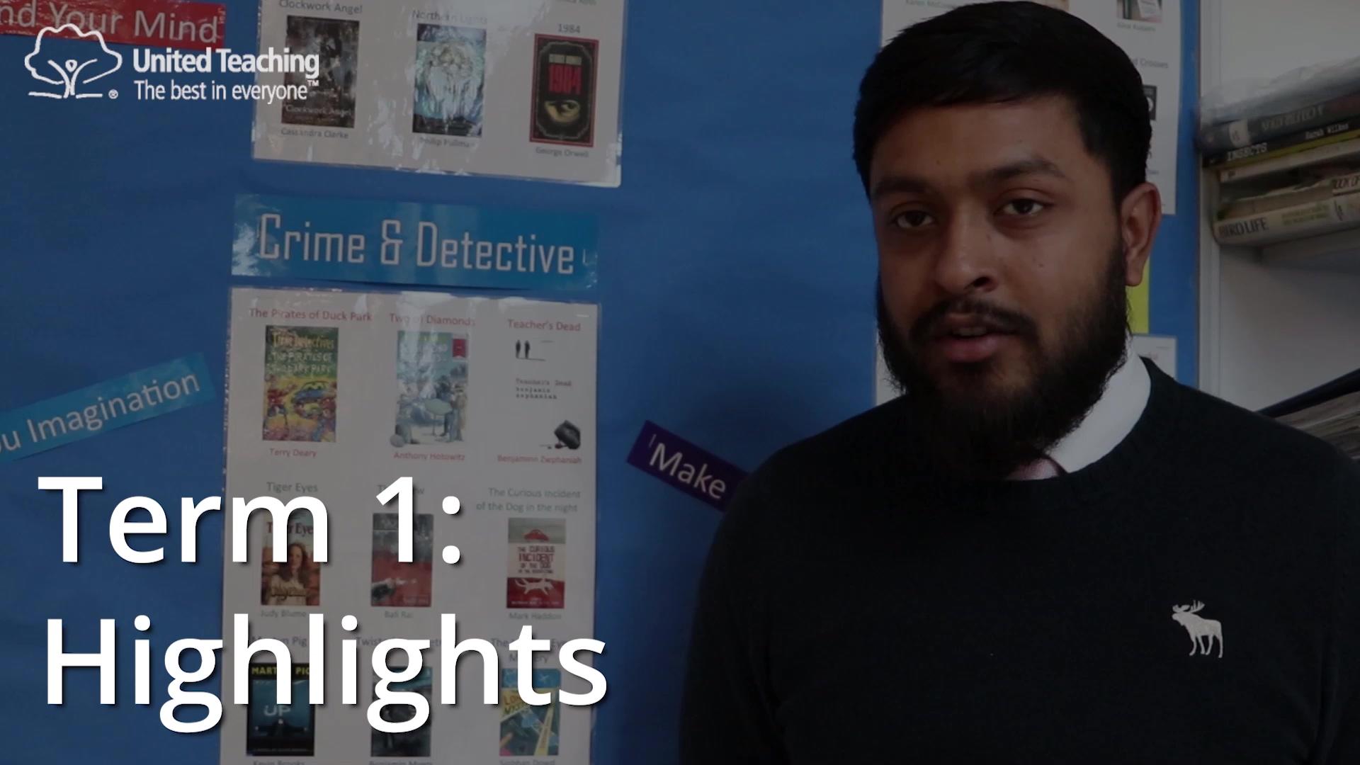 Imran - term 1 highlights