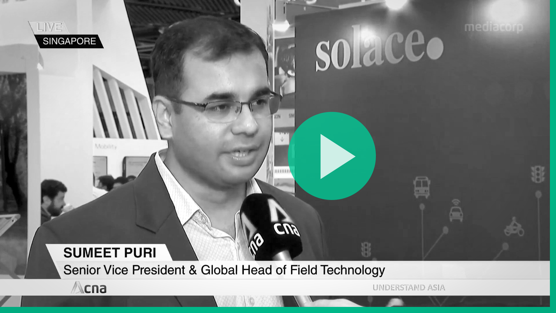 Sumeet Puri about intelligent transport systems on CNA