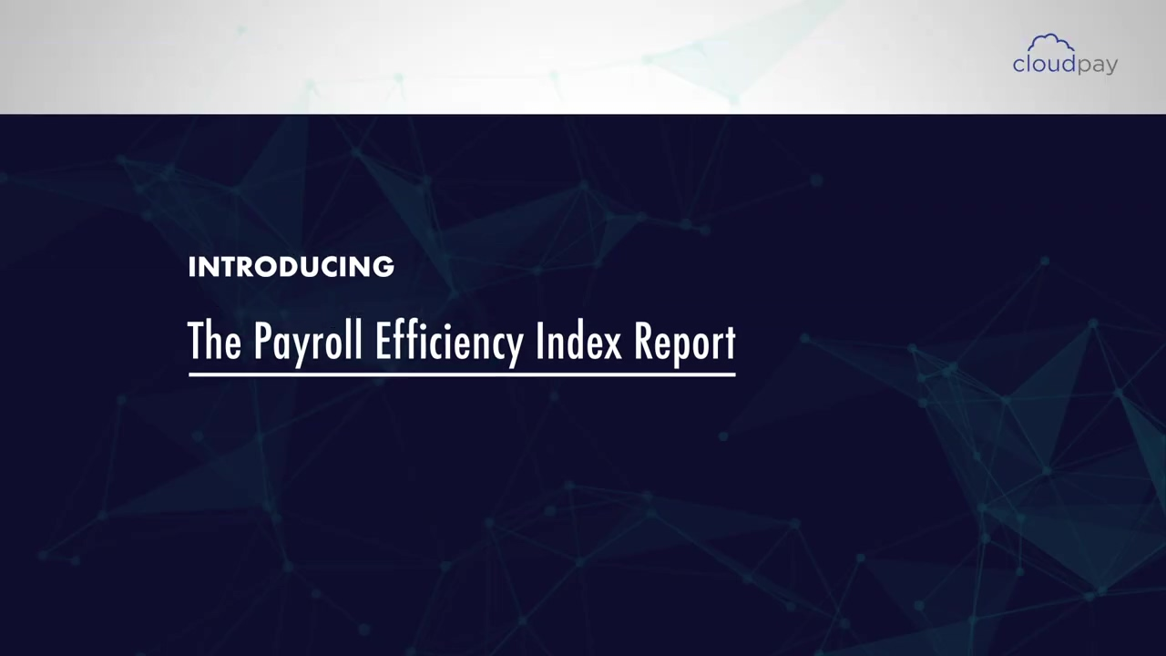 CloudPay Payroll Efficiency Index