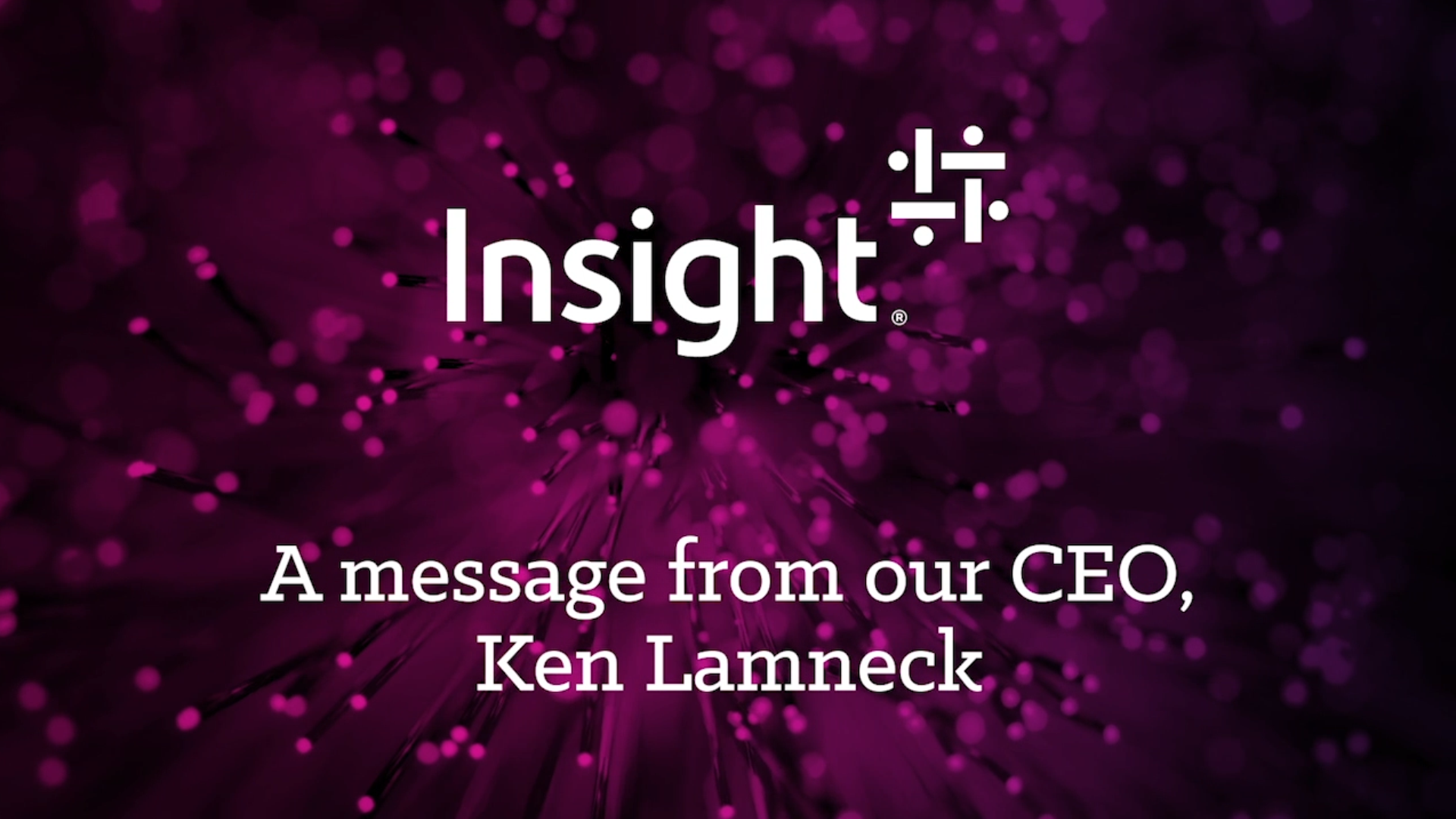 A message to our clients - Insight