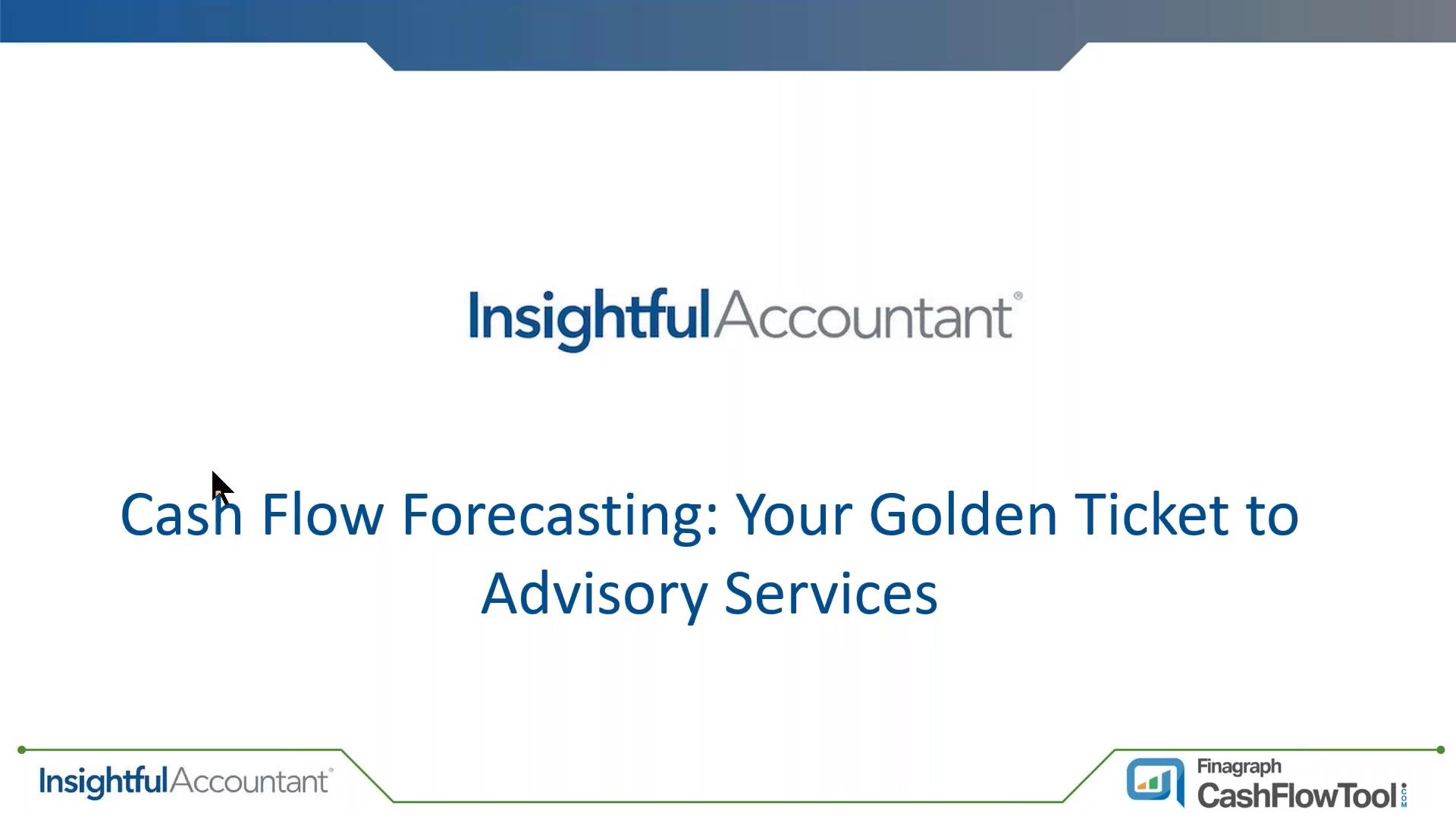 Insightful Accountant - Golden Ticket Webinar - 08-21-19 (Justin Pulgrano)