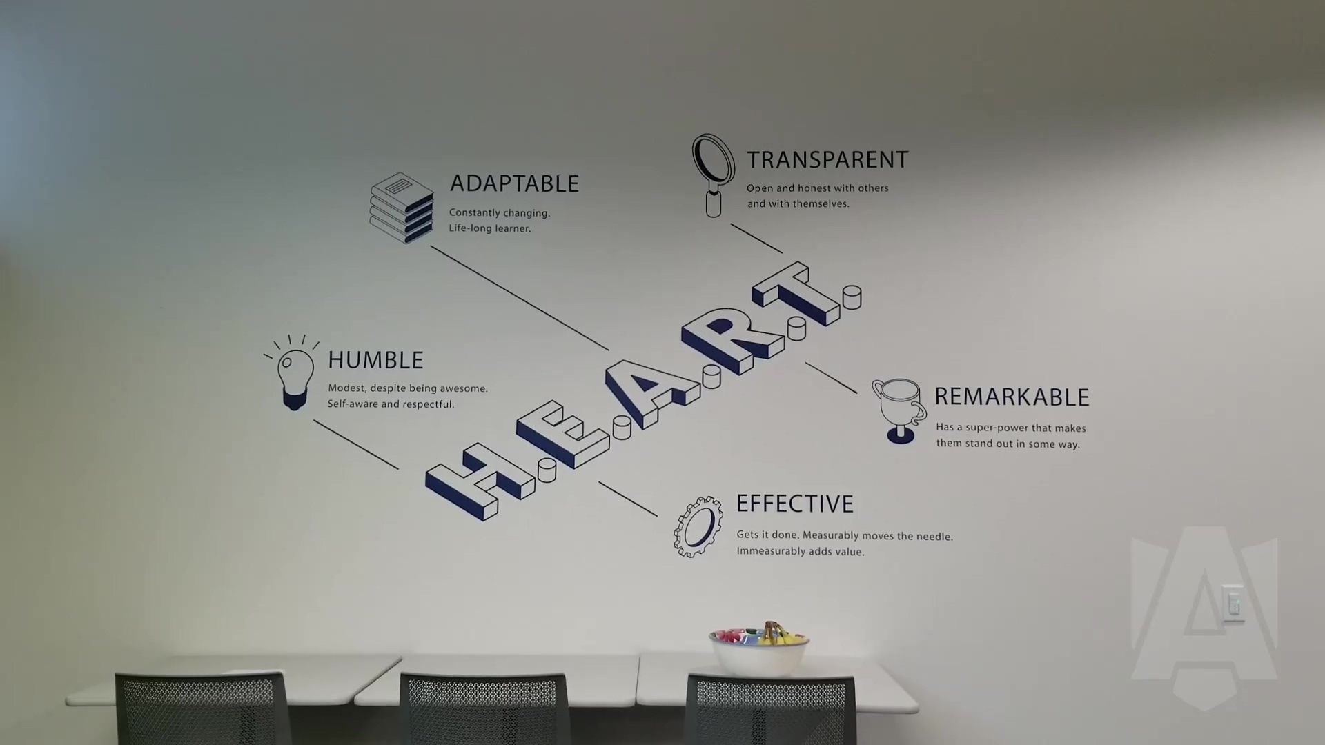 Armour Core Values - From the Lunch Room