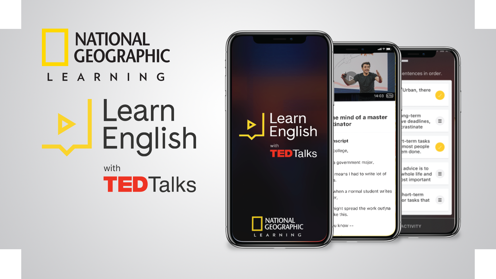 Learn English With TED Talks - NGL Promotion
