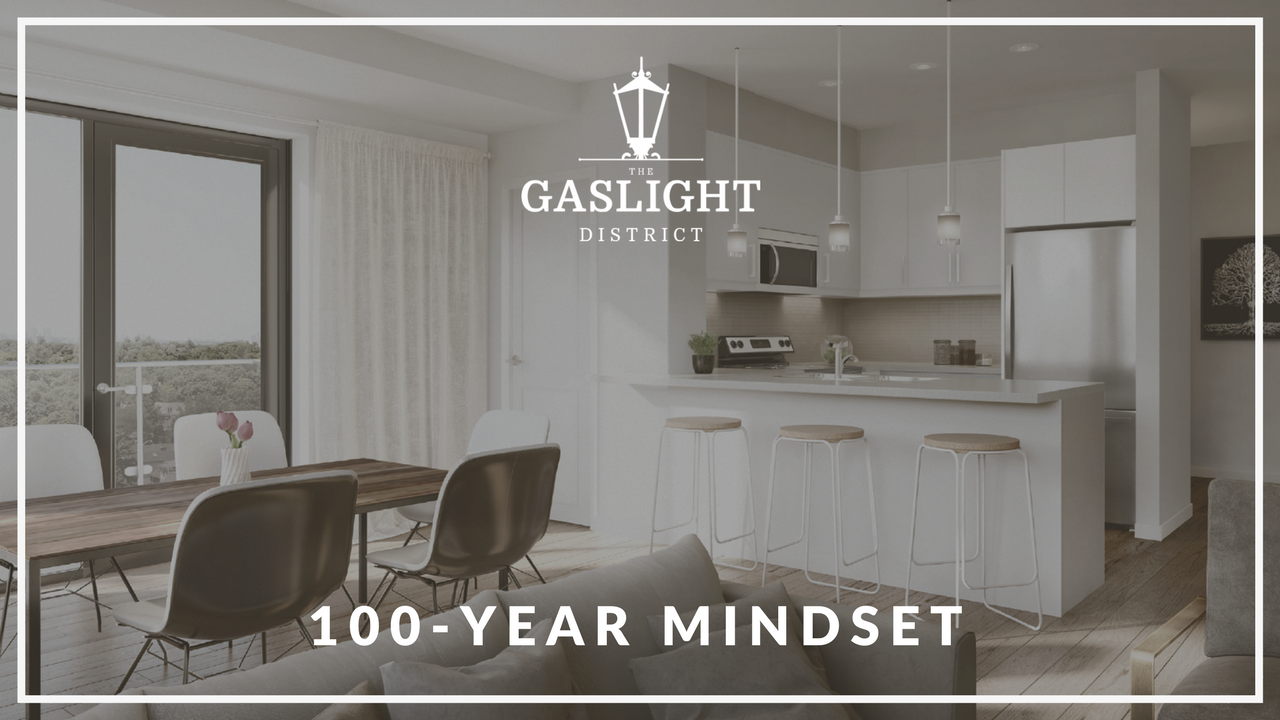 """100-Year Mindset"" - The Gaslight District, Cambridge"