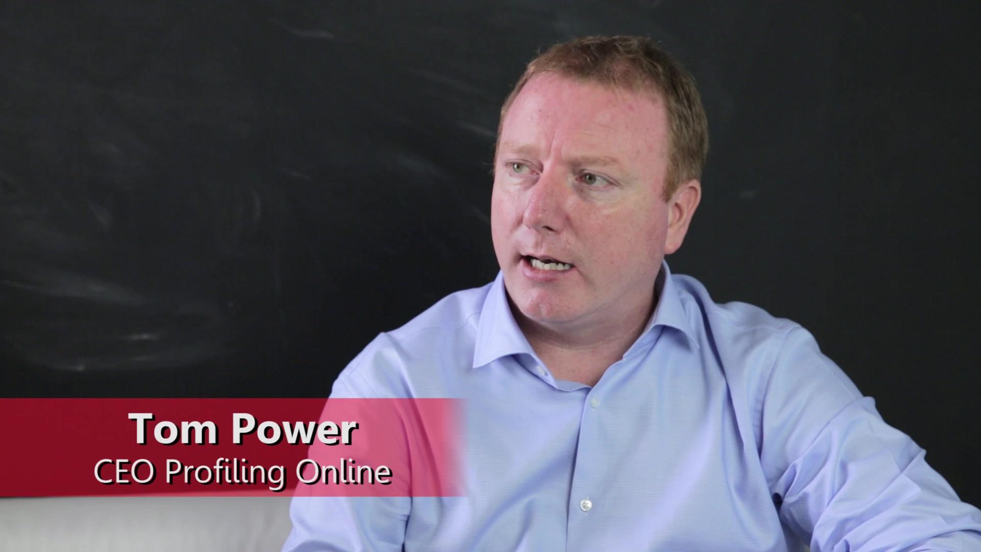 Video - Tom Power - Testimonial