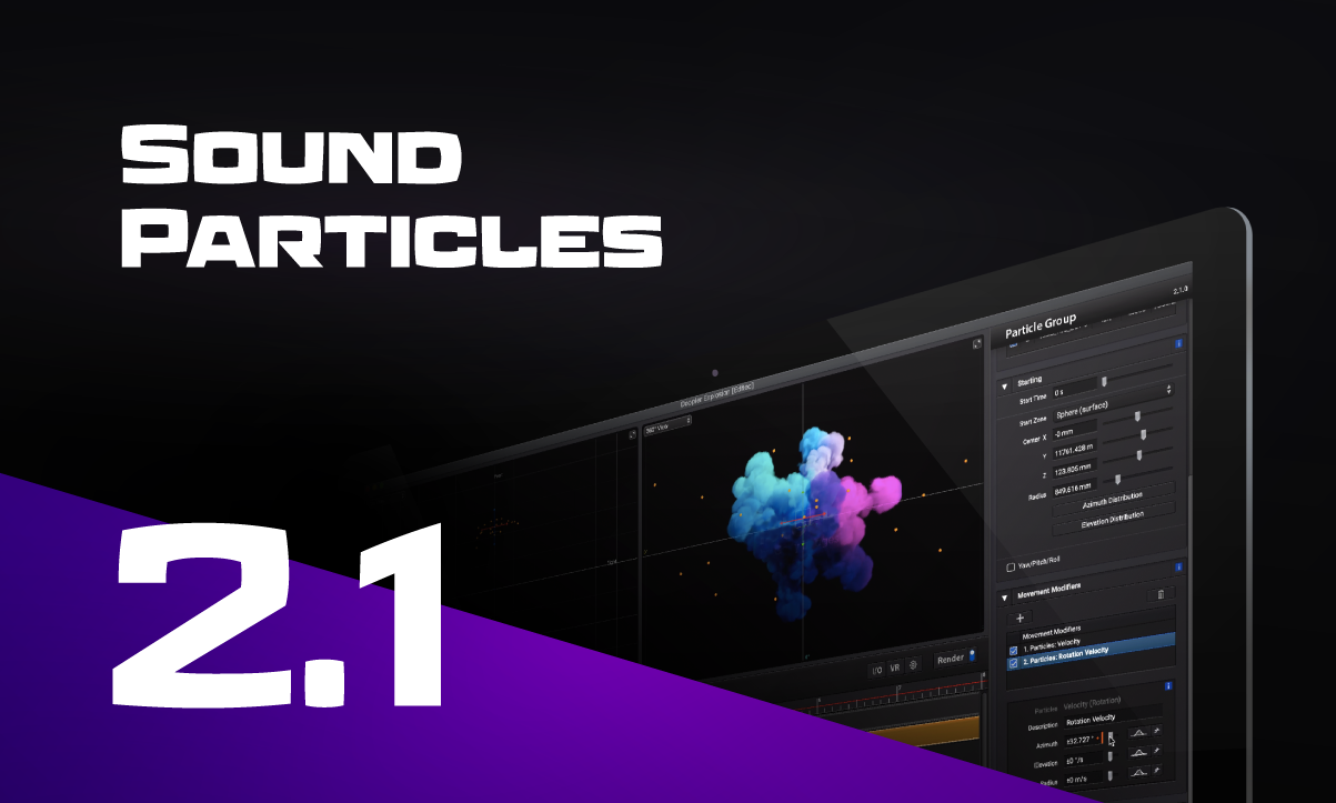 Sound Particles 2.1 Ad