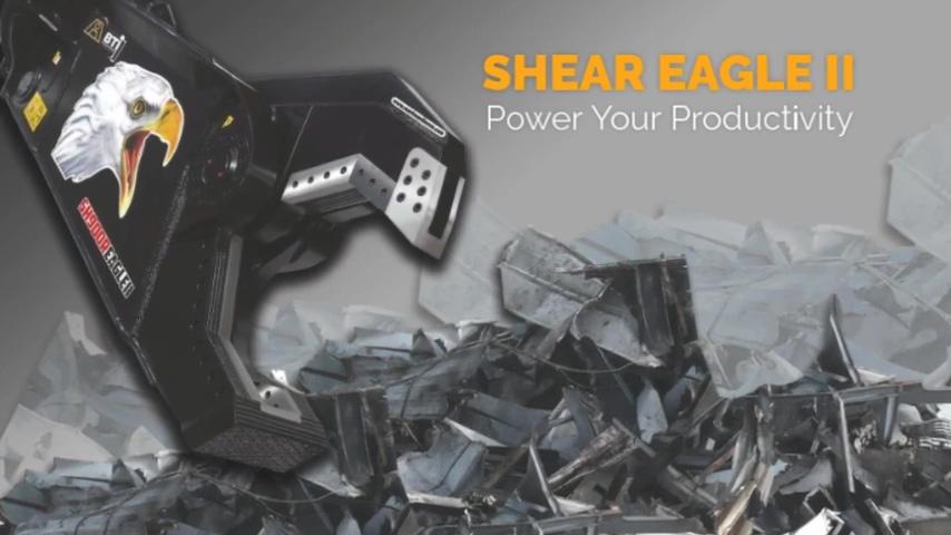 Breaker Technology   Hydraulic Scrap Shear Eagle II   Power Your Productivity