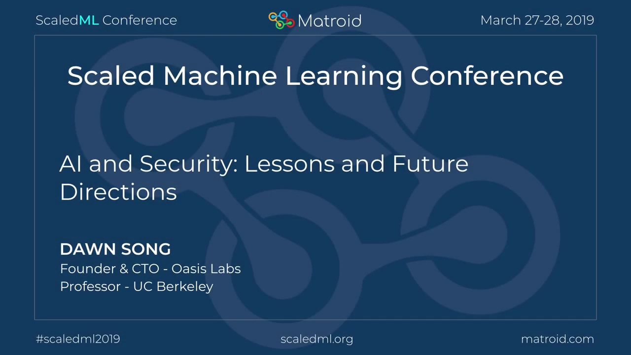 Dawn Song - AI and Security- Lessons and Future Directions