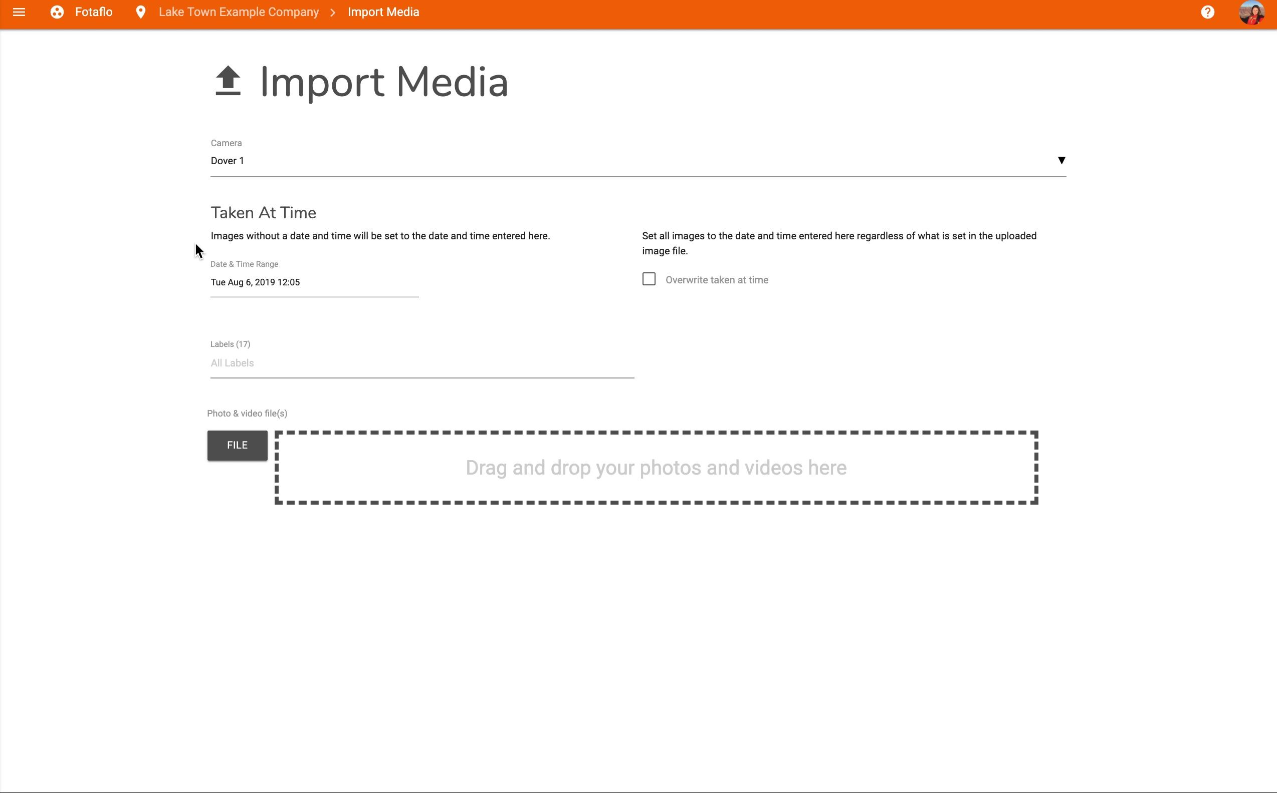 Catalog - Import Media 2
