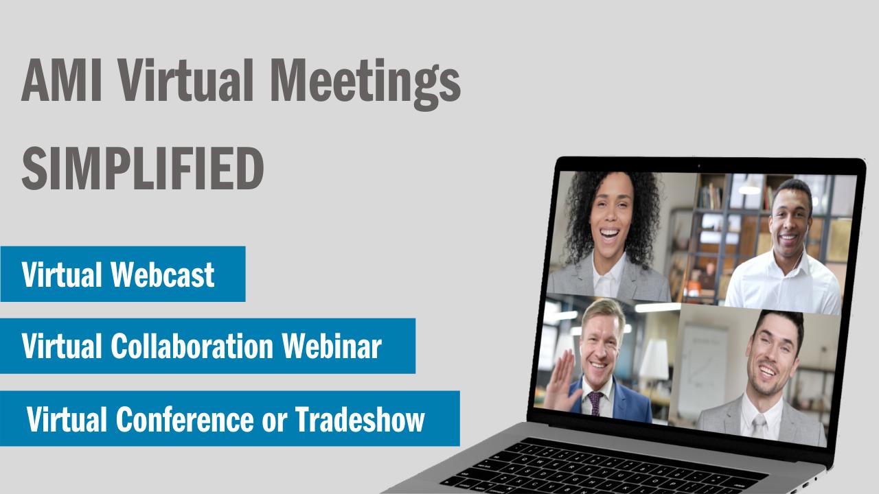AMI Virtual Meetings Simplified