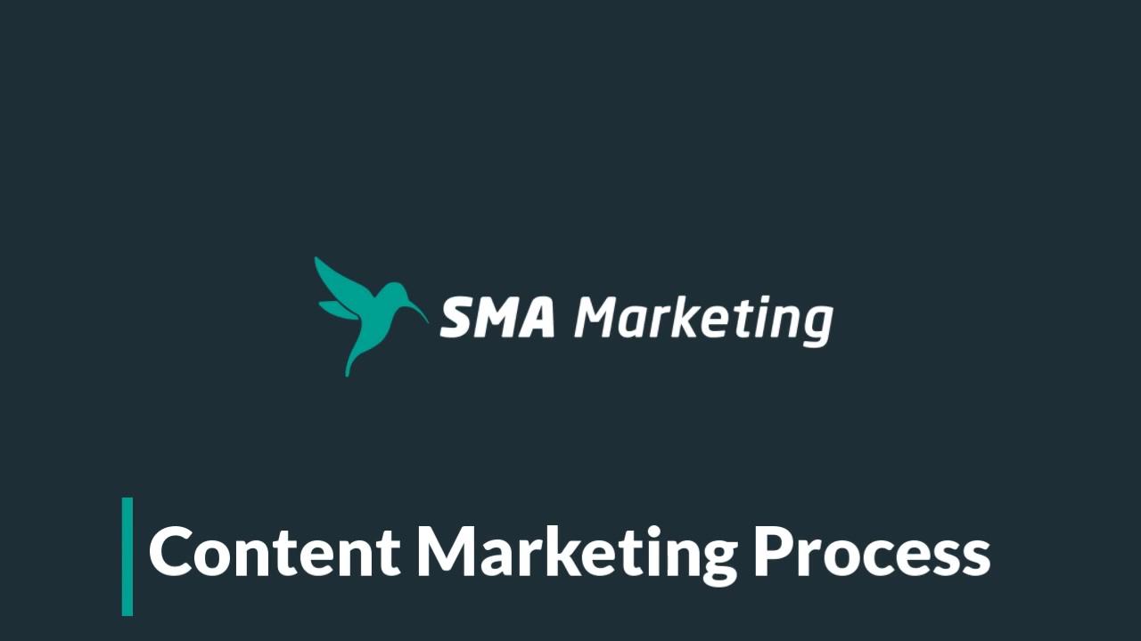 SMA Marketing Content Marketing Process Video
