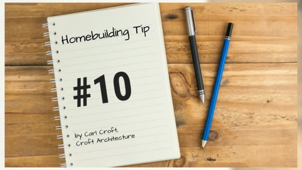12 Tips of Christmas for Ho Ho Homebuilding. Tip #10HD