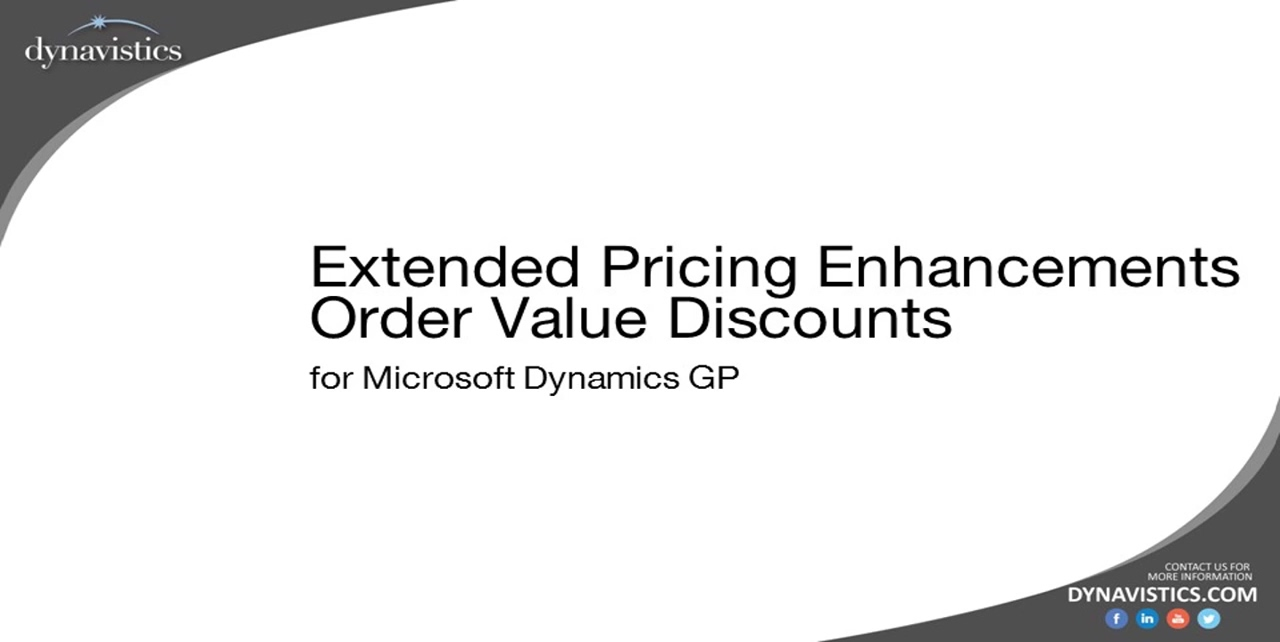 How to Manage Customer Specific Trade Discount Dynamics GP