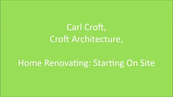 Carl Croft You Tube Starting on Site-1