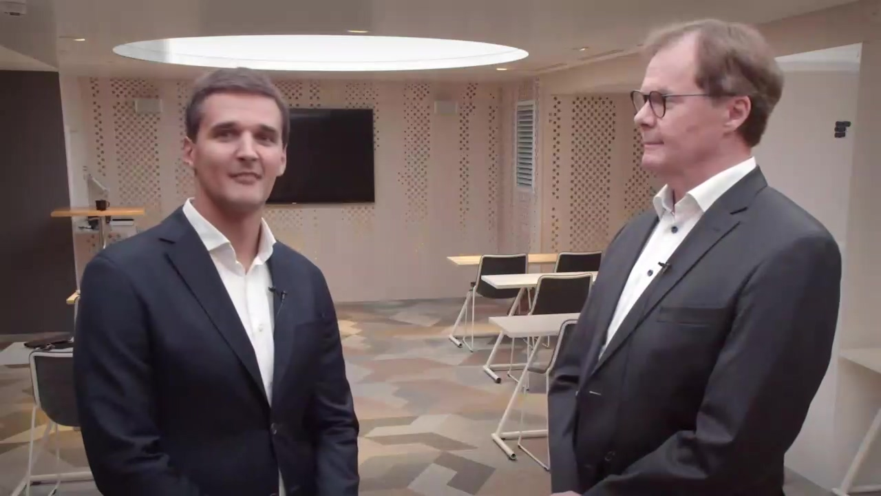Vaisala Q319 video interview with CEO Kjell Forsén