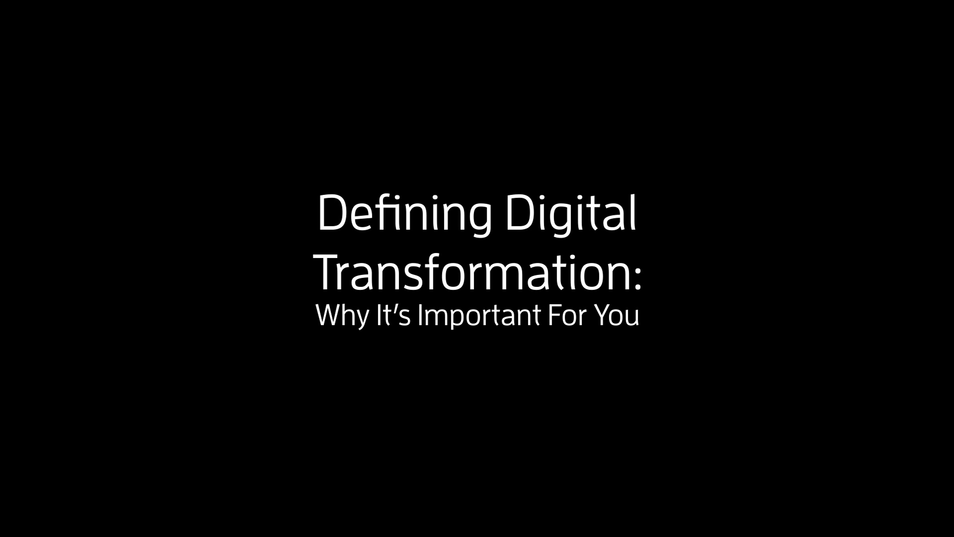 Digital Transformation of Supply Chains - DDT-Why Its Important to You