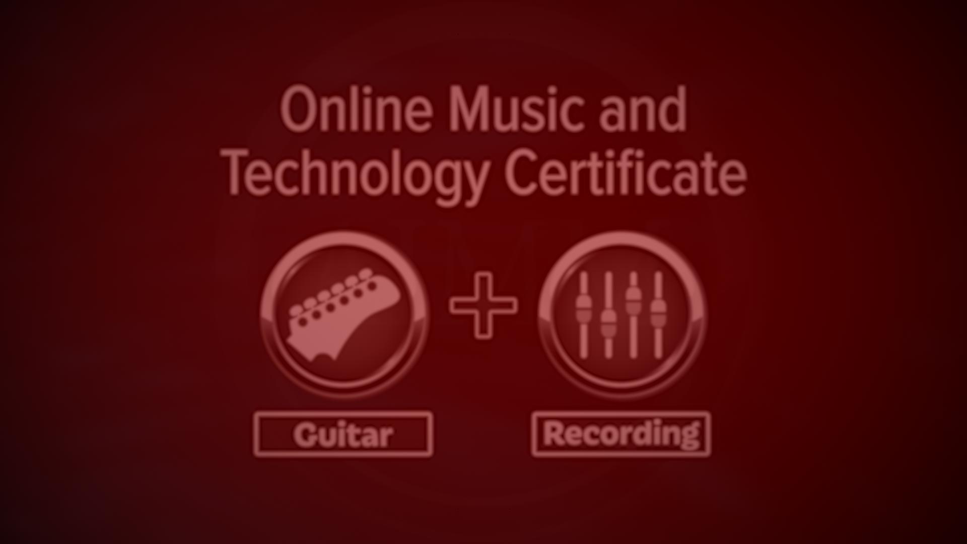 Online Guitar Certificate