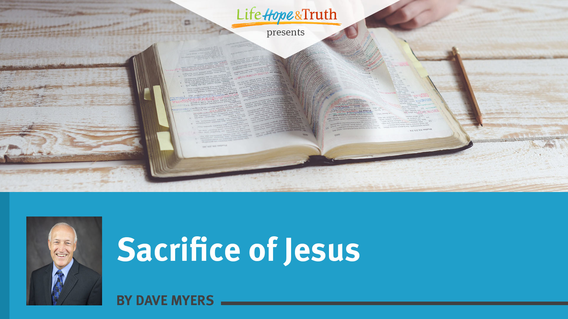 Sacrifice of Jesus