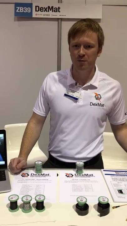 DexMat Inc. at IdTechEx Santa Clara, CA November 14-15th 2018