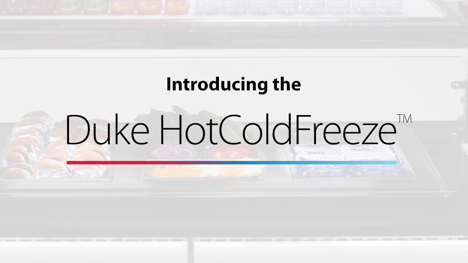 The Duke Hot-Cold-Freeze Food Well System Overview