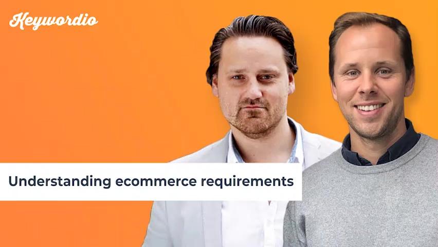 Understanding ecommerce requirements final