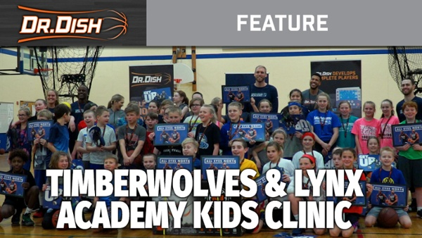 2019 T wolves Lynx Clinic Rogers MN