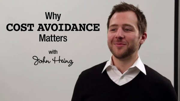 Why Cost Avoidance Matters