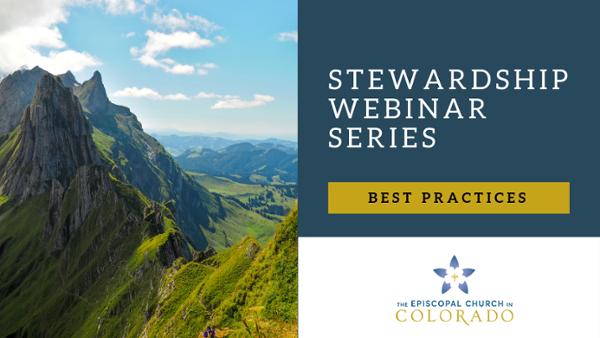 Episcopal Stewardship Webinars - 1 Best Practices in Giving