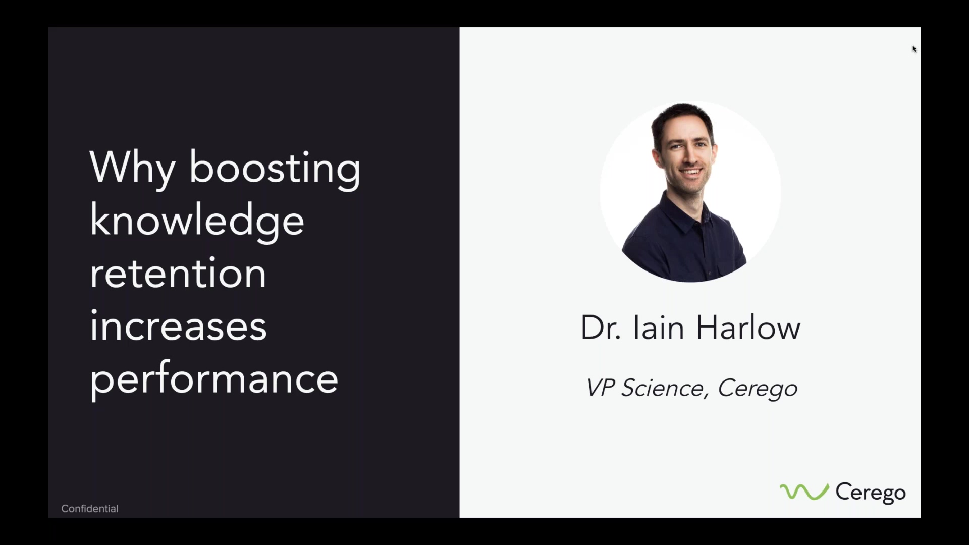 Why boosting knowledge retention increases performance - 2019.07