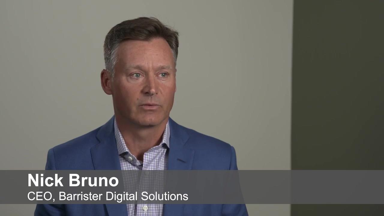 Customer Testimonial Barrister Digital Solutions