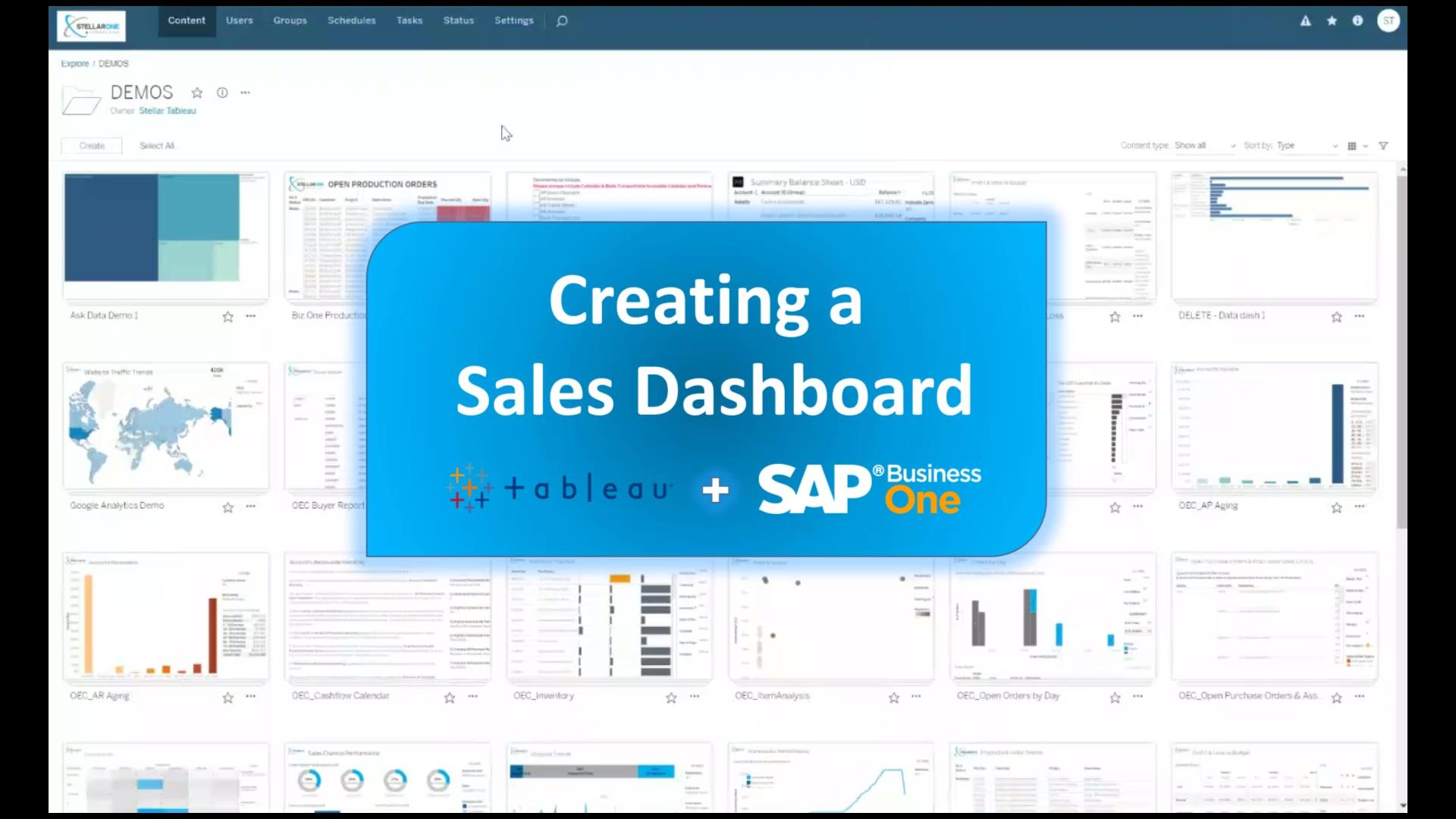 Create My First Sales Dashboard_LP 2