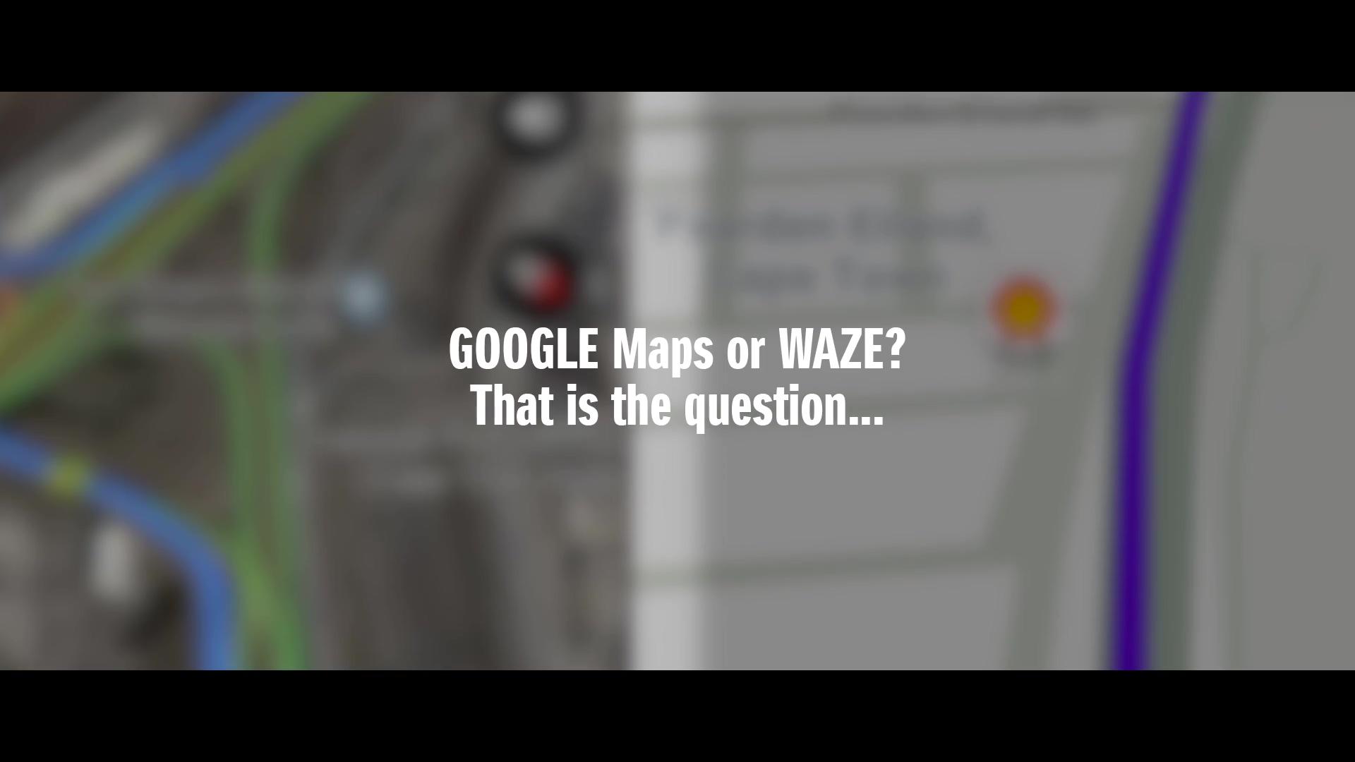 Real-time road test: Waze vs Google Maps