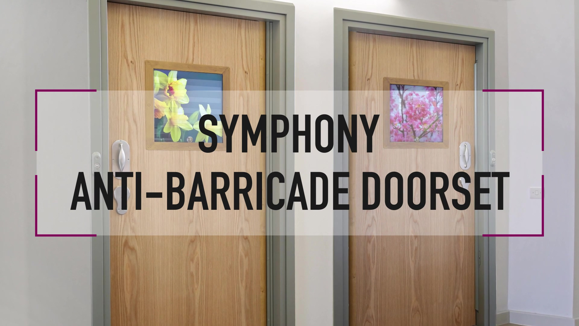 Anti-Barricade Doorset - No Euro Cylinder