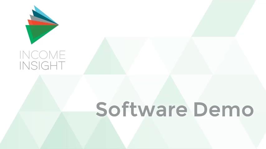 Income Insight Sales Demo 2 - V2