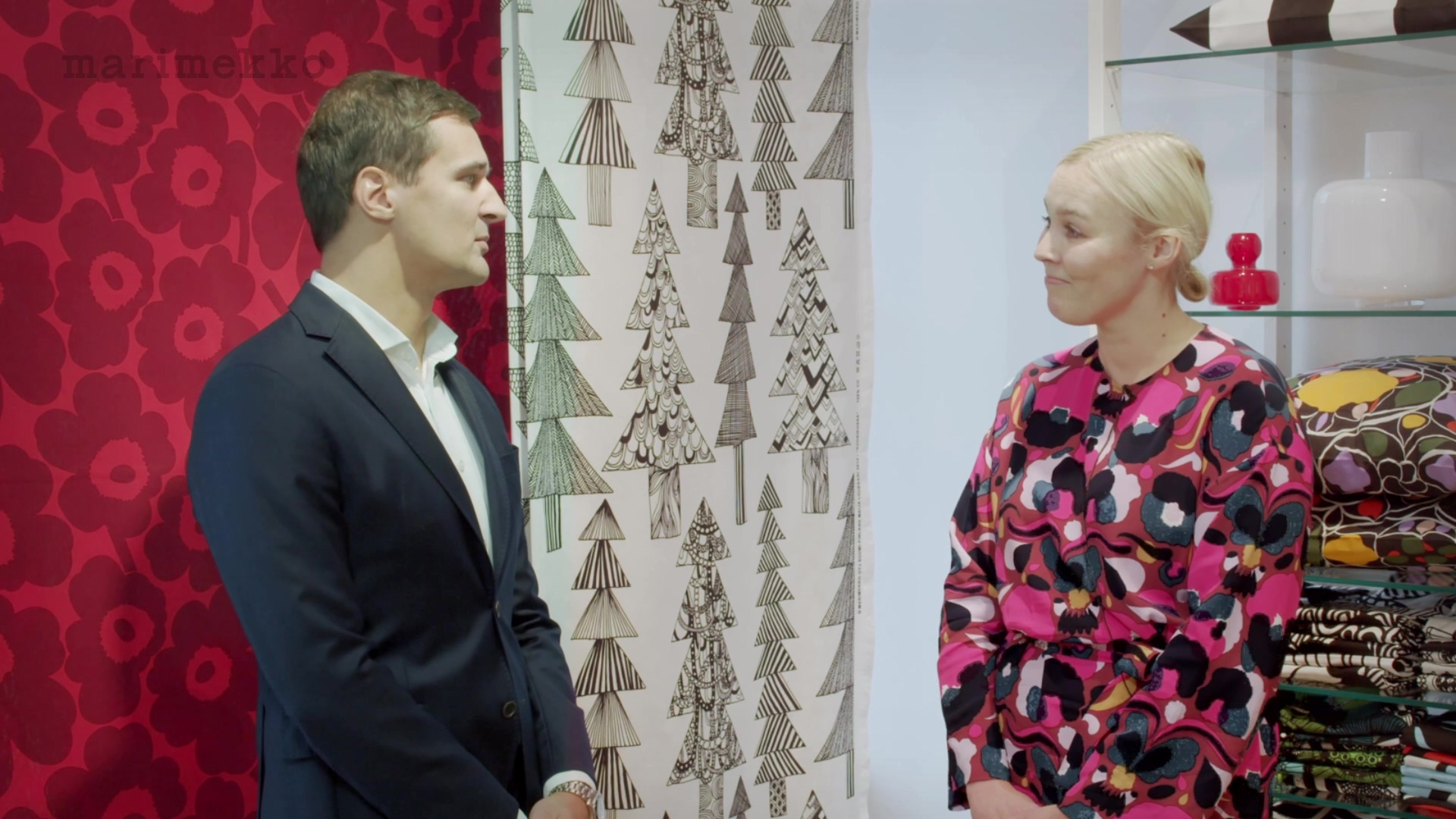 Marimekko Q319 interview with Tiina Alahuhta-Kasko