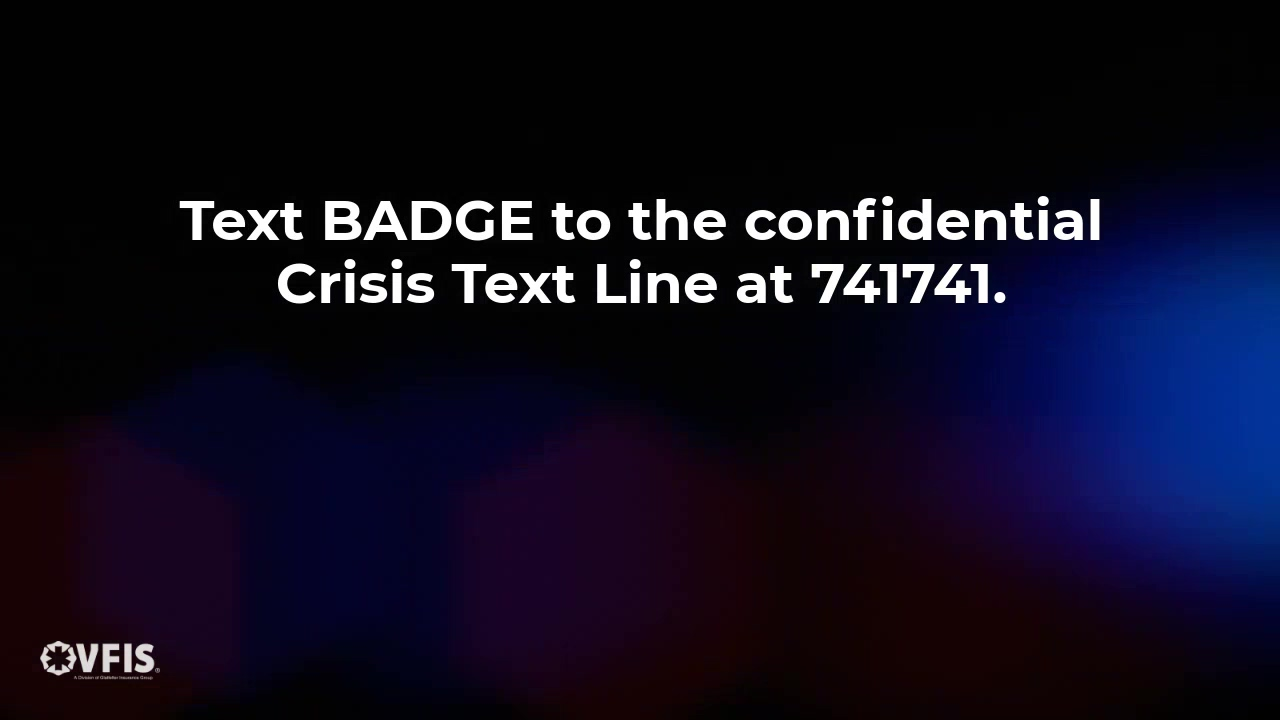 Text BADGE to 741741
