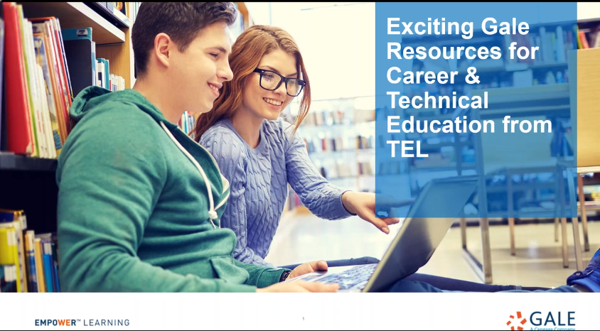 Exciting Gale Resources for Career & Technical Education from TEL Thumbnail