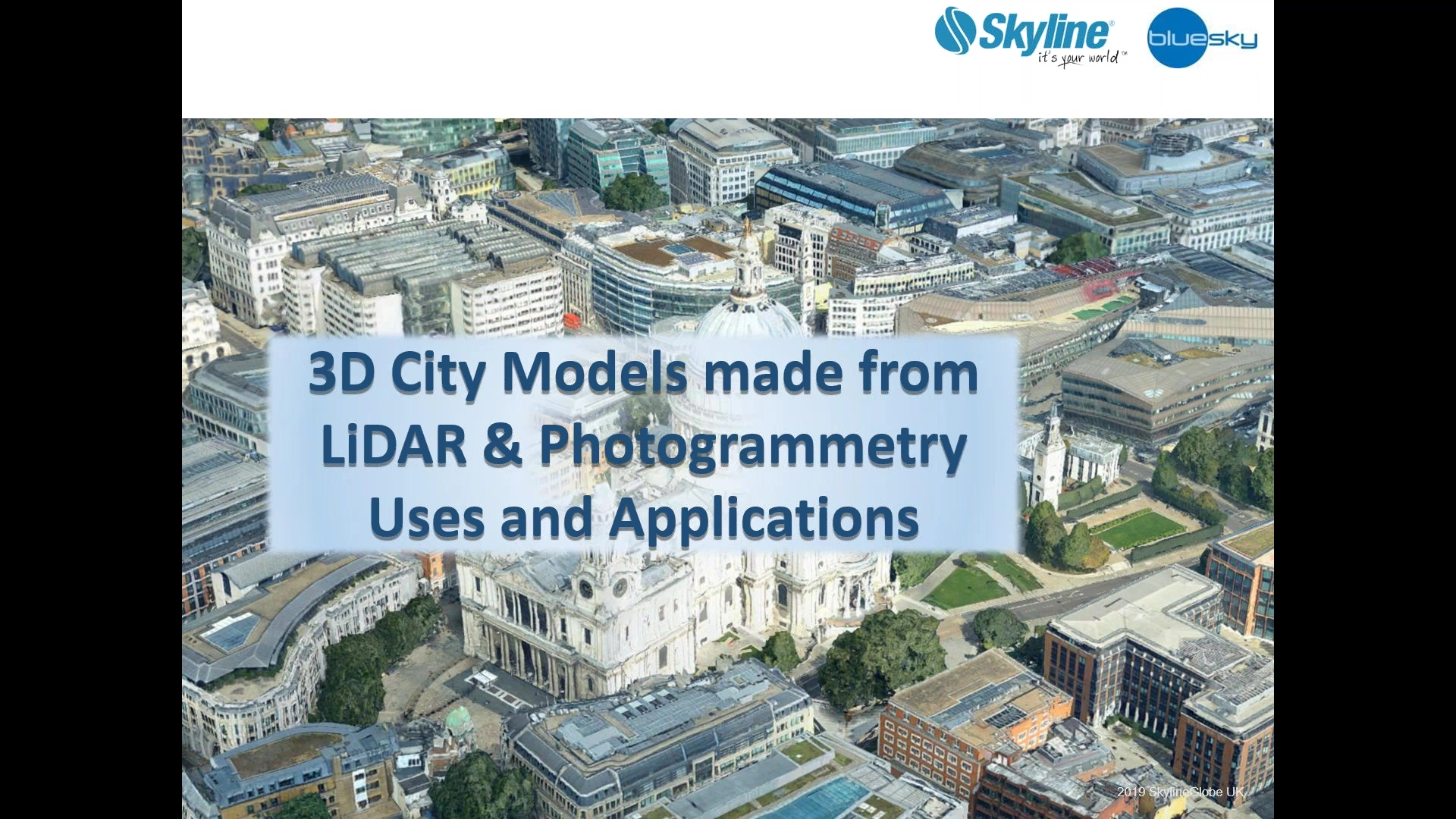 Skyline Software Systems Virtual Trade Show Series_ Part 3 LiDAR & Photogrammetry_ Uses and Applicat
