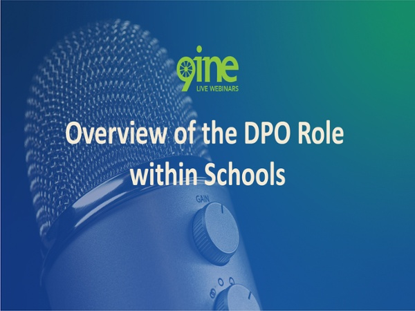 Overview of the DPO Role within Schools_2018-04-23