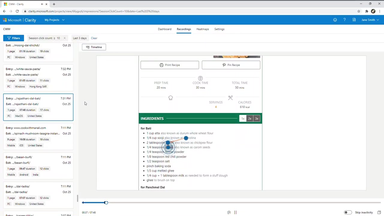 Microsoft Clarity _ Free behavioral analytics product for website managers